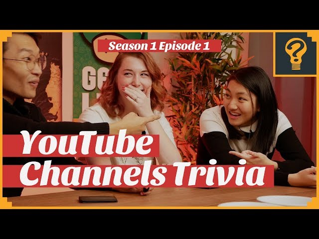 YouTube Channels Trivia · Trivial Geeks S1 Ep 1