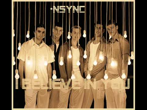 nsync feat joe- I believe in you