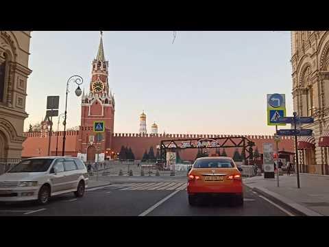 . Москва. Автопрогулка. 22 ноября 2019 г.