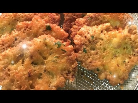 Bacalaitos Fritos / Codfish Fritters