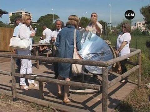 Un four qui fonctionne à l'énergie solaire! (Marseille)