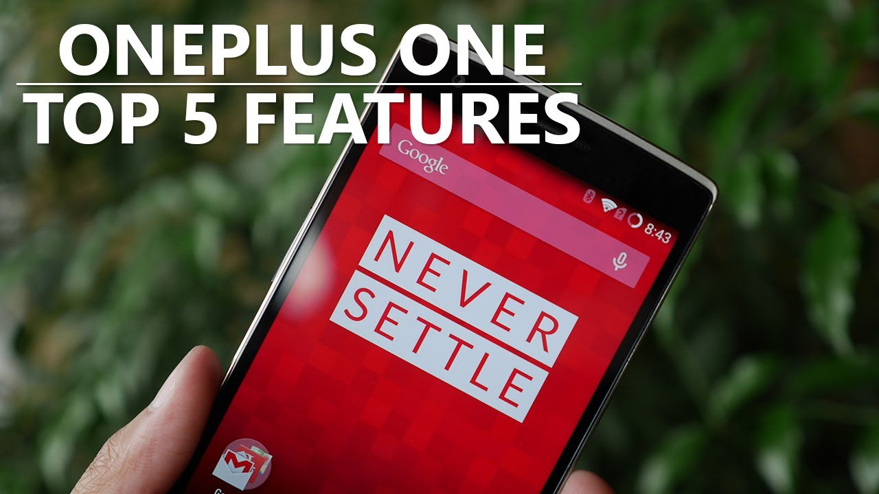 OnePlus One - Top 5 Features