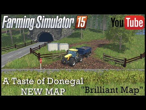 A Taste of Donegal NEW MAP Mod Review *Fantastic Map* (FS 15)