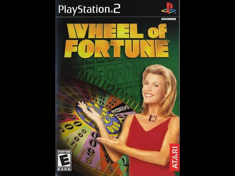 PS2 Wheel of Fortune 2nd Run Game #3
