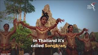 Cambodia ushers in the New Year with celebrations at Angkor Wat