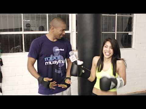 Charles Michael Davis Muay Thai Lesson and