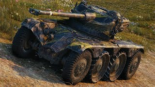 World of Tanks Panhard EBR 75 (FL 10) - 4 Kills 7,5K Damage