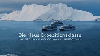 Die neue Expeditionsklasse von Hapag-Lloyd Cruises