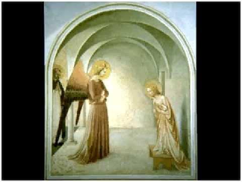 confronti beato angelico   lippi annunciazione raccontato da G. C. Argan