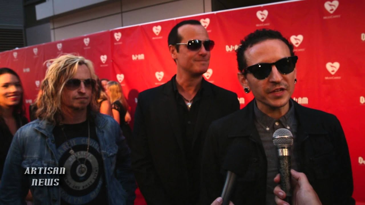 CHESTER BENNINGTON TALKS MAP FUND HONOR, UNITES STONE TEMPLE PILOTS on