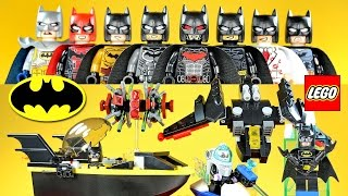 LEGO Batman vs Mr. Freeze & Batman in the Phantom Zone plus Unofficial Minifigures w/ The Batwing