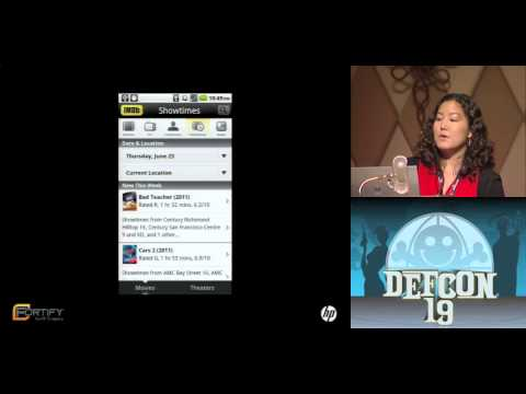 DEF CON 19 - Yekaterina Tsipenyuk O'Neil, Erika Chin - 7 Ways to Hang Yourself with Google Android