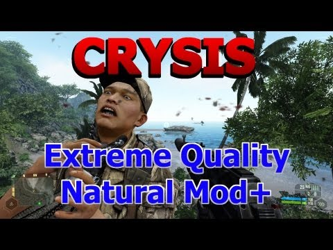 [HD] BEST GRAPHICS EVARRR! Crysis Natural Mod PC Gameplay 1080p Extreme settings