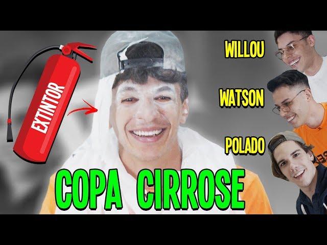 UM BANHO DE EXTINTOR - COPA CIRROSE