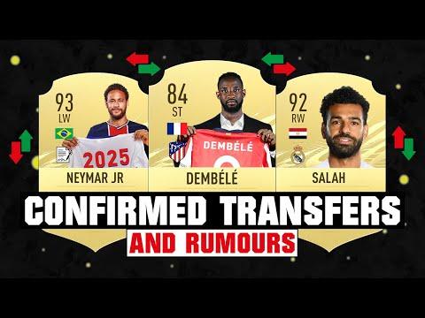 FIFA 21 | NEW CONFIRMED TRANSFERS & RUMOURS 😱🔥| FT. DEMBELE, NEYMAR, SALAH... etc