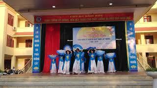 12A7   Múa: Tứ Phủ   Hội diễn văn nghệ kỉ niệm 90 năm thành lập Trường