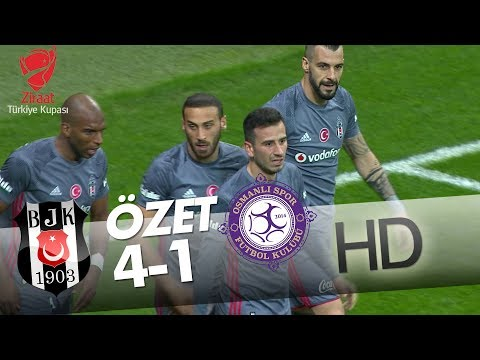 Beşiktaş - Osmanlıspor Maç Özeti