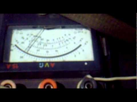 Измерение тока полного оностороннего пробоя изоляции на стрелке