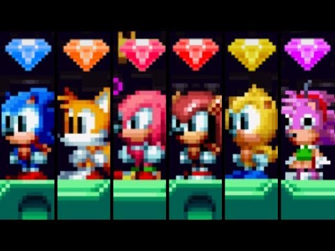 Sonic Mania Plus - All Baby Characters & Super Forms thumbnail