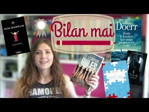 bilan mai 2016 | Marine's books