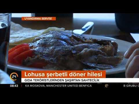 Et Döner Aslında Et Döner Değilmiş! / 24 TV / 31 Ekim 2017