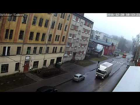 Riga Live Street | (real time picture) | FFmpeg streaming from outdoor camera