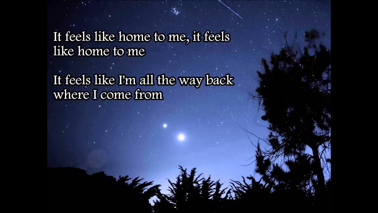 feels like home to me lyrics