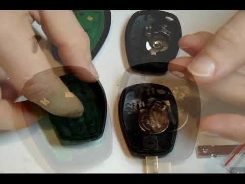 How to do it (Button Key Case For Renault)