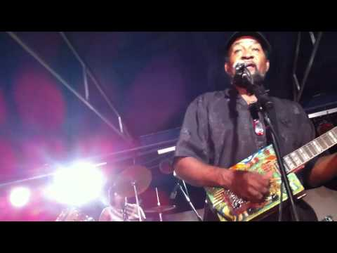 Super Chikan live at South Loup Blues Fest 2011