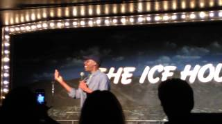 Arsenio Hall at the Ice House Comedy Club in Pasadena CA, 9/3/14 hosted by Rudy Moreno