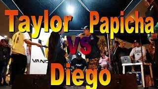 Taylor (Trujillo) vs Diego (Tarapoto) vs Papicha Vandal Fest Nacional 2017 - Raptonda