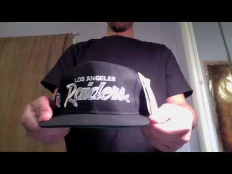 Fresh Pickups  2 - Los angeles raiders snapback - YouTube 18cacad46a3