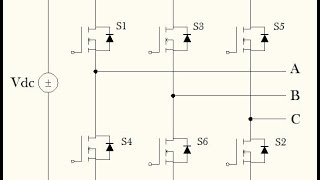 Six Step Voltage Source Inverter part I (Circuit Demonstration)