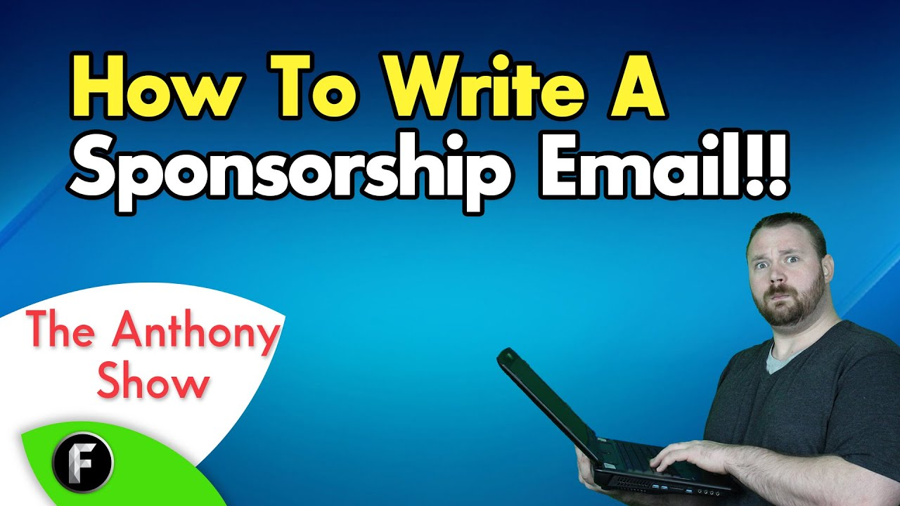 ★ How to write a professional Sponsorship letter!! #FreedomFamily