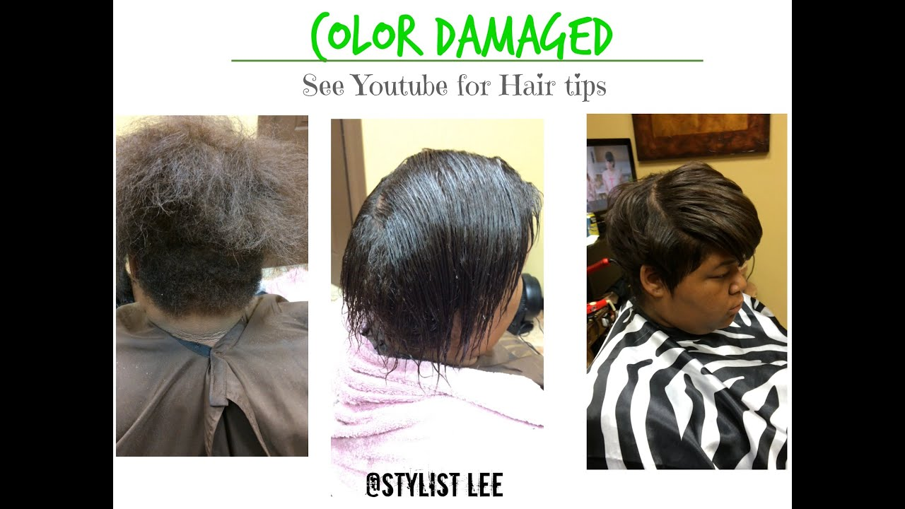 Color Damaged Natural Hair