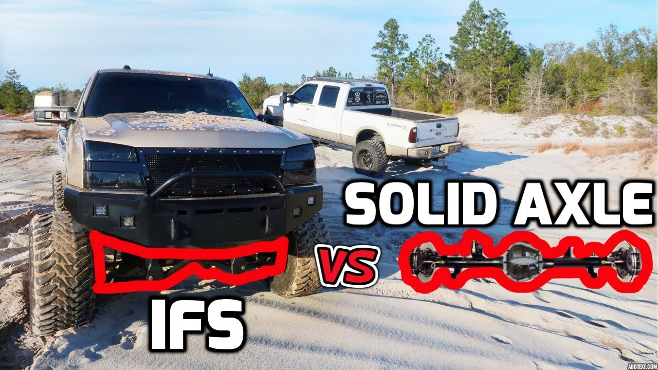 IFS VS SOLID AXLE! Is a SOLID AXLE SWAP right for you?