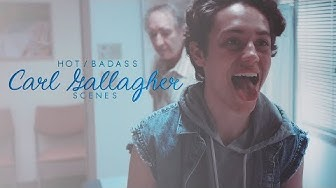 Hot/Badass Carl Gallagher Scenes [Logoless+1080p] (Shameless US)