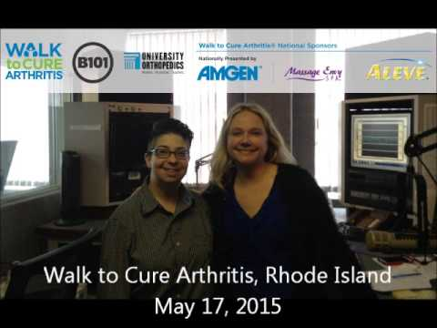 Jennifer Grossman, Adult Honoree of the 2015 Walk to Cure Arthritis RI