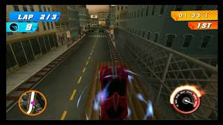 SUPERSPEEDWAY BEAST   Hot Wheels Track Attack Impavido 1 on City Race 1
