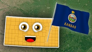 Geography for Kids Kansas Counties