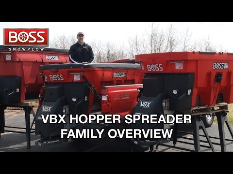 VBX Hopper Spreader Family Overview | BOSS Snowplow |