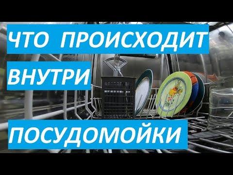 Как работает посудомоечная машина изнутри видео