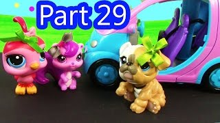 LPS Morning Exercise - Mommies Part 29 Littlest Pet Shop Series Movie LPS Mom Babies