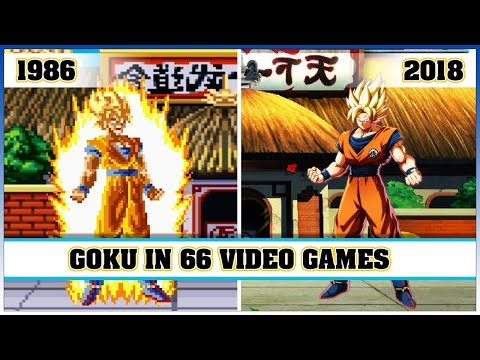 GOKU, the evolution in video games [1986 - 2018]