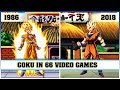 goku the evolution in video games 1986 2018