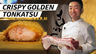 How Crispy Golden Fried Pork Is Made at Tokyo's Tonkatsu Hinata - First Person