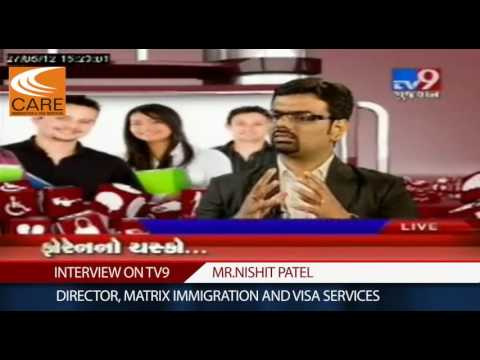 Study Abroad-TV9 (Famous Gujarati NEWS Channel) Interview