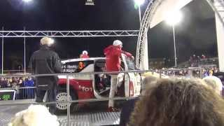 Wales Rally GB 2014 Start - Kris Meeke / Paul Nagle - Citroen DS3 WRC