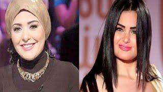 سما المصري مهددة بالقتل وصابرين تخلع الحجاب