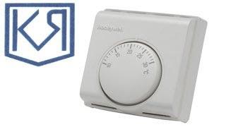 видео Внешний терморегулятор ТС-1-90